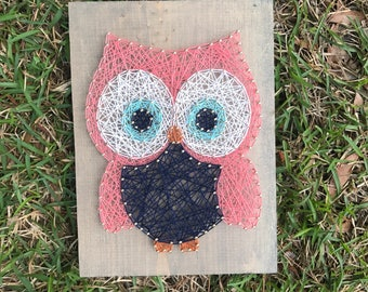 MADE TO ORDER Owl Mini - String Art