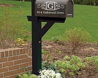 Mailbox Decal |  Custom Mailbox Decal | Address Decal | Mailbox Numbers | Mailbox Monogram | Mailbox Stickers