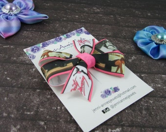 Pinwheel Hair Bow Clip - Dirty Dancing