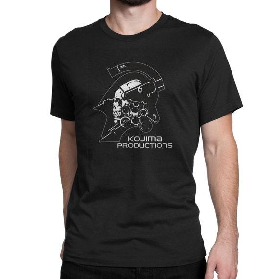 Kojima Productions Logo T-Shirt Black MEN/WOMEN