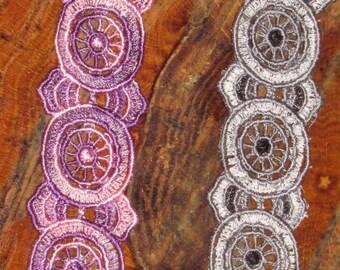 Brenda Embroidered Bracelet