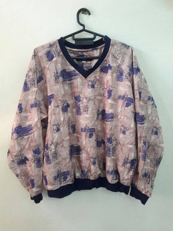 Vintage Dana Lee sportswear street sweatshirt Made USA jacket