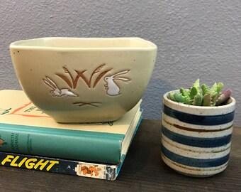 Handmade Bunny Bowl