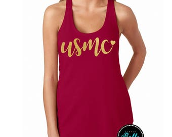 USMC,Marine Wife,Marine girlfriend,usmc,heart,hearts,glittery,glitter,gold,marine,marines,marine corps,us marines,us marine corps,semper fi