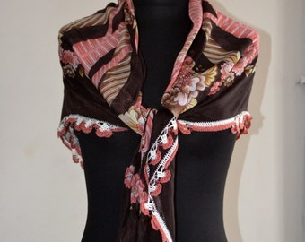 Needle Laced Scarf