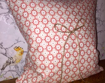 Gorgeous Neutral Cushion with Twine Ribbon
