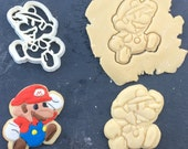 20% OFF SALE Mario Cookie Cutter