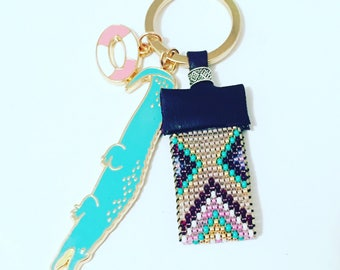 See ya later Alligator! Beadwork Keychain