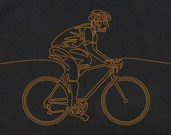 Cycling, Gift for Cyclist, Cycling T-Shirt, Men's Cycling T-Shirt, Men's Cycling Gift, Fathers Day, Bicycling T-Shirt, Cool T-Shirts, Bikers
