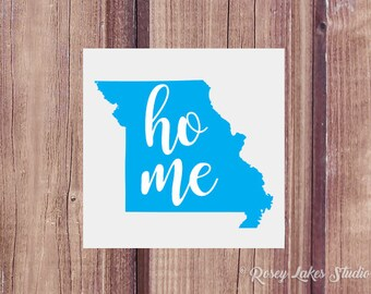 Missouri Decal, Missouri, Home State Decal, State Decals, Missouri Car Decal, Window Decal, Missouri State Decal, Yeti Decal, Tumbler Decal