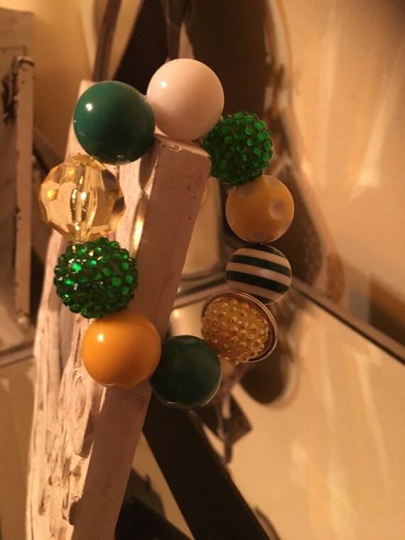 Green Bay Packers Keychain Bracelet