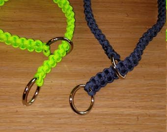 Slip knot dog collar