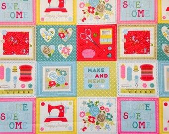 Make Do and Mend Fabric