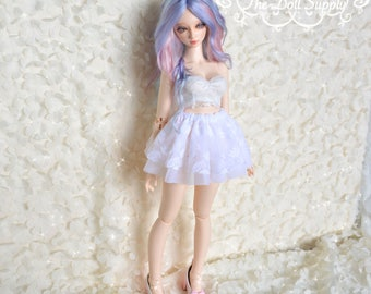 lacy Bjd skirt for feeple60 and other SD sized dolls