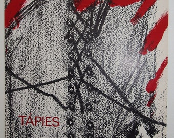 Antoni Tàpies - Vintage Art Book 1968