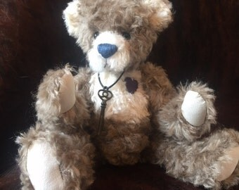 Bodie - artist made, hand-made, mohair, teddy bear, collectible, one-of-a-kind