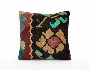 kilim pillow, decorative pillow, turkish pillow, bohemian pillow, pillow, turkish kilim pillow, pillow cover, boho pillow, vintage pillow