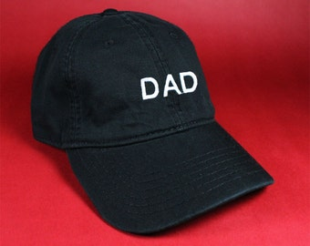 DAD Black Pink White Dad Hat Dad Cap Baseball Hat Baseball Cap Embroidered Low Profile Casquette Strap Back Adjustable Cotton