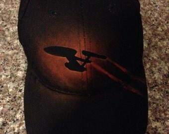 Star Trek Enterprise bleached ballcap