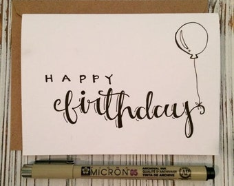 Happy Birthday with Art (Pack of 5)
