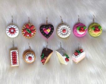 Dessert Cakes Dangle Earrings