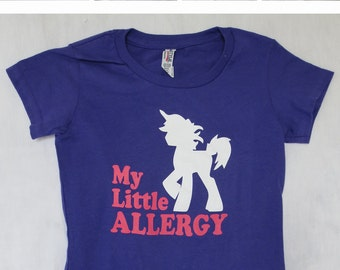 Unicorn - personalized allergy shirt for your child