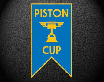 Cars Piston Cup Banner/Pennant