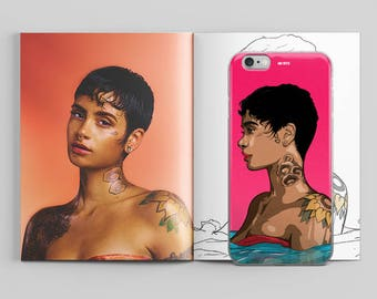 Kehlani Waves Phone Case by AKARTS