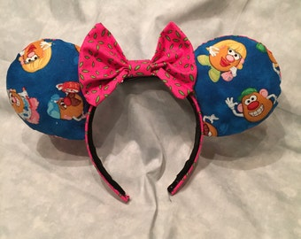 Mr. potato head Mickey ears