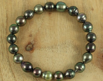Bracelet pearls of Tahiti (8)