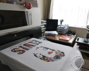 Elvis Collage t-shirt