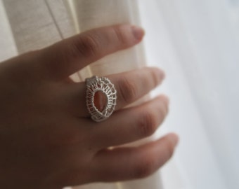 Orange Agate Ring: Influence