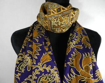 New Cotton Batik Scarf