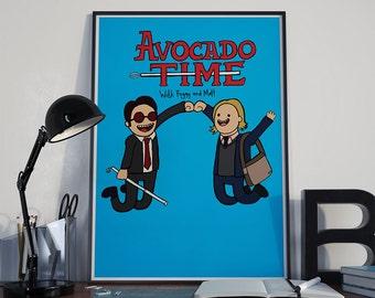 Daredevil 'Avocado Time' A3 Art Print
