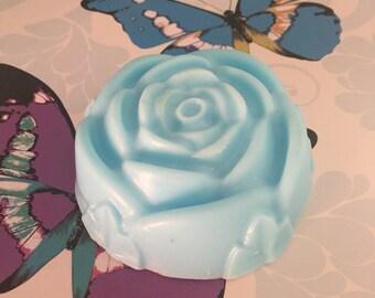 Bluebell-rose floral fragrance SLS free handmade soap