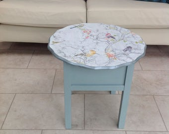 Vintage upcycled sewing table / box