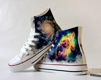 Galaxy Custom Made Shoes