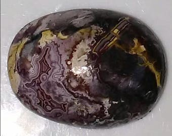 Crazy Lace Agate Cabochon Oval 18x14x7mm