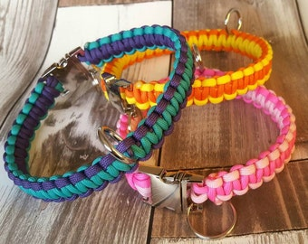 Paracord Dog Collar - Two Colours