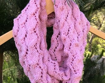 SOLD Lace Infinity Scarf