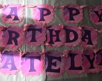My Little Pony Birthday Banner