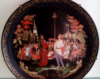 Russian Collector Plate