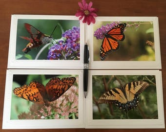 Your Choice: Beautiful Butterfly Cards, Butterfly Photography Greeting Card, Blank Card, Keepsake Greeting Cards, Handmade Greeting Cards