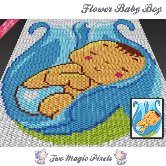 Cross Stitch Crochet Baby Blanket Patterns