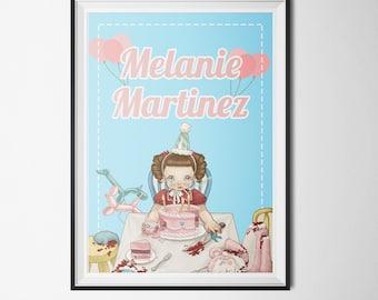 Melanie Martinez Poster (PRINTABLE) - Instant Download - DIY