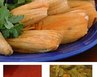 New Mexico Tamale Sampler, with Free Red and Green Sauce