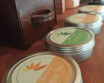 Lotion Bar Mixed 3-Pak #aromatherapy #shea butter #essential oil