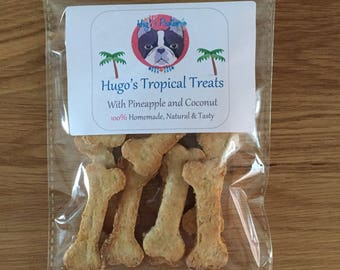 Hugo's Tropical Treats - With Pineapple and Coconut
