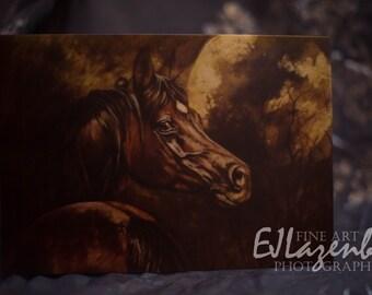 Blank Art Card - Full Moon
