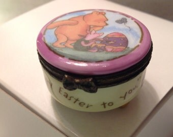 Pooh Treasure Box but it's round PHB Disney and you get the treasure by Midwest of Cannon Falls
